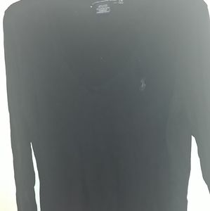 Womens long sleeve v neck ralph Lauren shirt